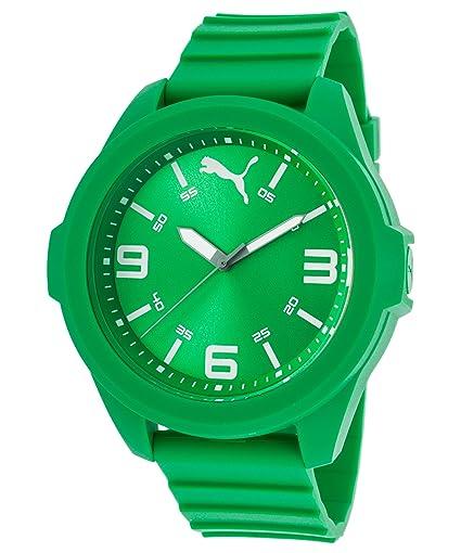 Puma Time PU911311004 - Reloj de Pulsera para Hombre, Color Verde