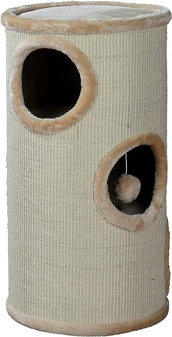 Trixie 4330 Torre Rascador Samuel, 70 cm, Beige: Amazon.es ...