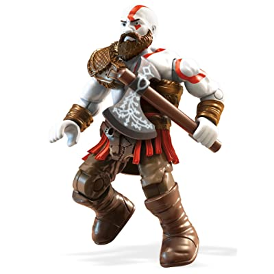 Mega Construx Heroes God Of War Kratos Building Set: Toys & Games