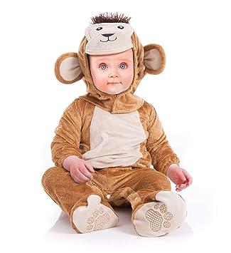 Instant Costumes Traje del Animal del bebé del Mono de la Felpa (0 ...