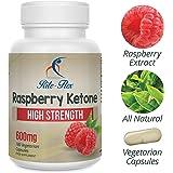 Rite Flex Lampone Chetoni, 600 mg, 180 vegetariana capsule (6 mesi di alimentazione) ad alta resistenza supplementazione Supporta peso sano