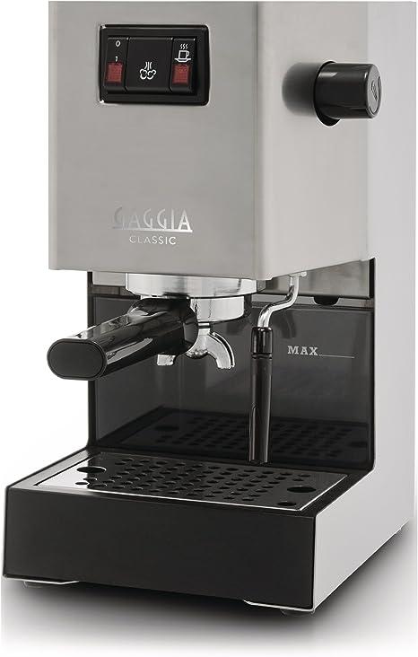 Gaggia Classic, Brushed steel, 1300/1425 W, 230-240V 50Hz / 120V ...