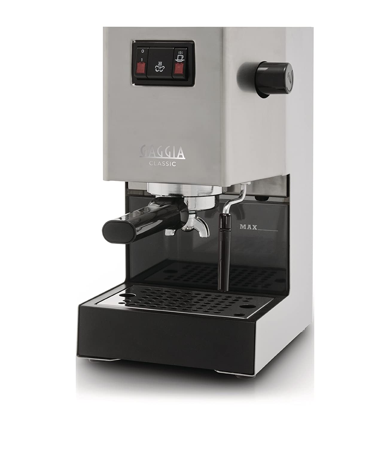 Electronic Baby Gaggia Coffee Machine gaggia classic ri8161 coffee machine with professional filter holder stainless steel body amazon co uk kitchen home
