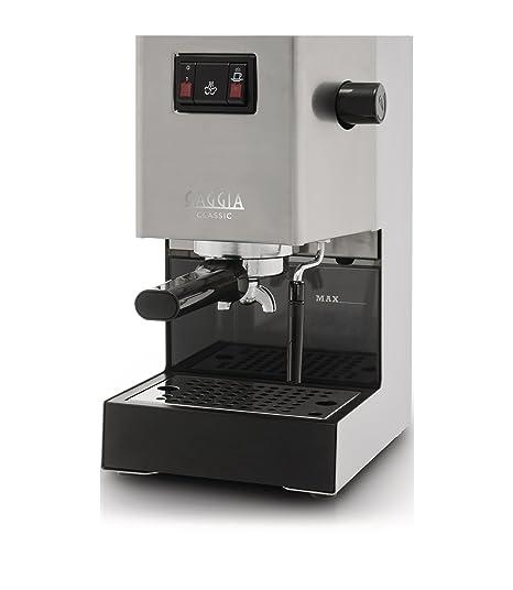 Gaggia Classic, Brushed steel, 1300/1425 W, 230-240V 50Hz / 120V 60Hz, 230 x 240 x 380 mm, 8000 g, Acero inoxidable - Máquina de café