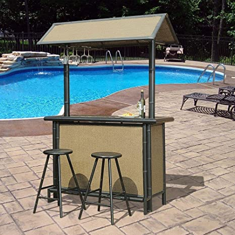 Awesome Fiji 3 Piece Patio Bar Set Gmtry Best Dining Table And Chair Ideas Images Gmtryco