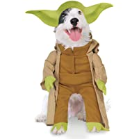 Rubies Costume Co Star Wars Collection Pet Costume, Yoda with Plush Arms, Small