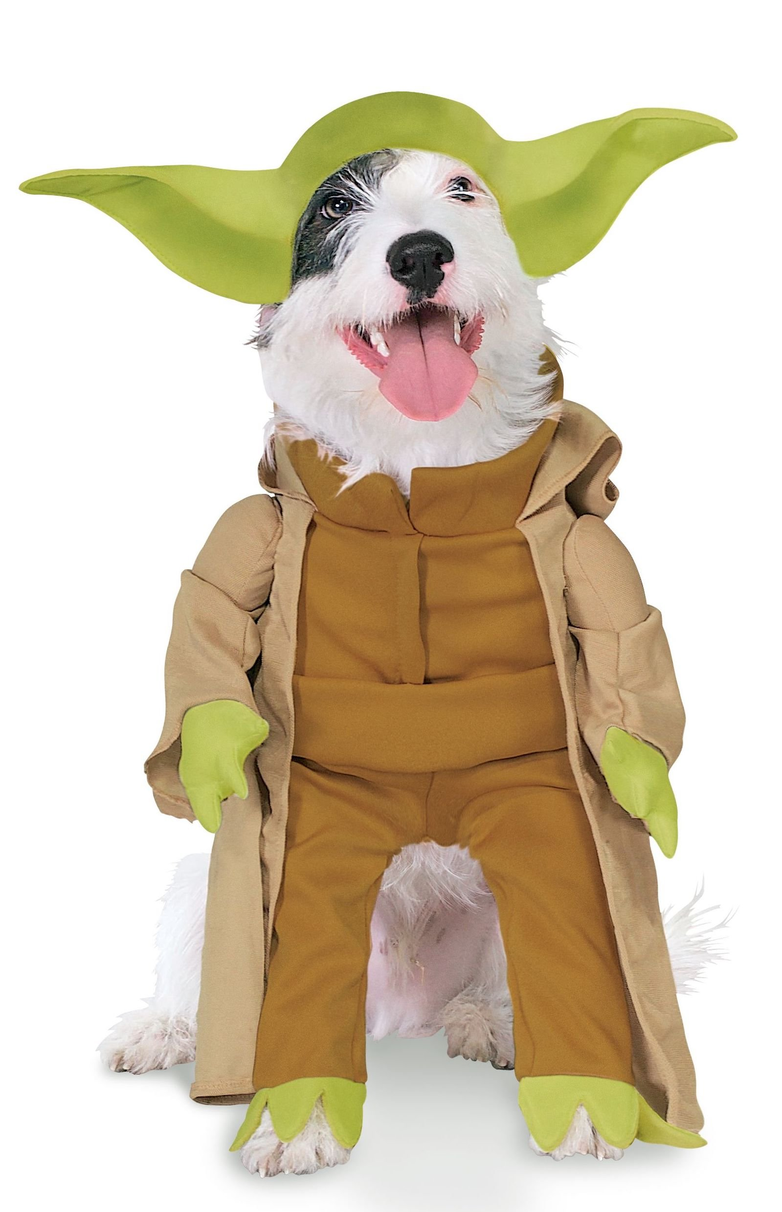 Rubie's Star Wars Collection Pet Costume, Yoda with Plush Arms, X-Large