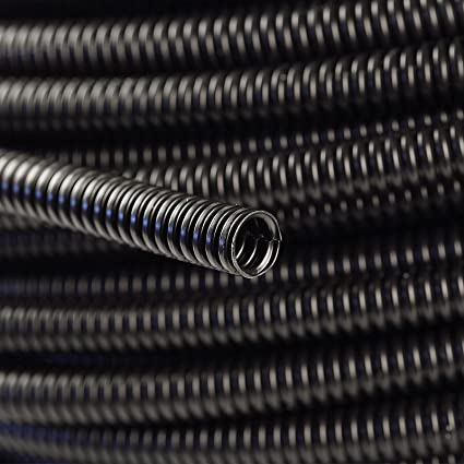 "Polyethylene Tubing 1//4/"" Split Wire Loom Conduit 20 Ft"