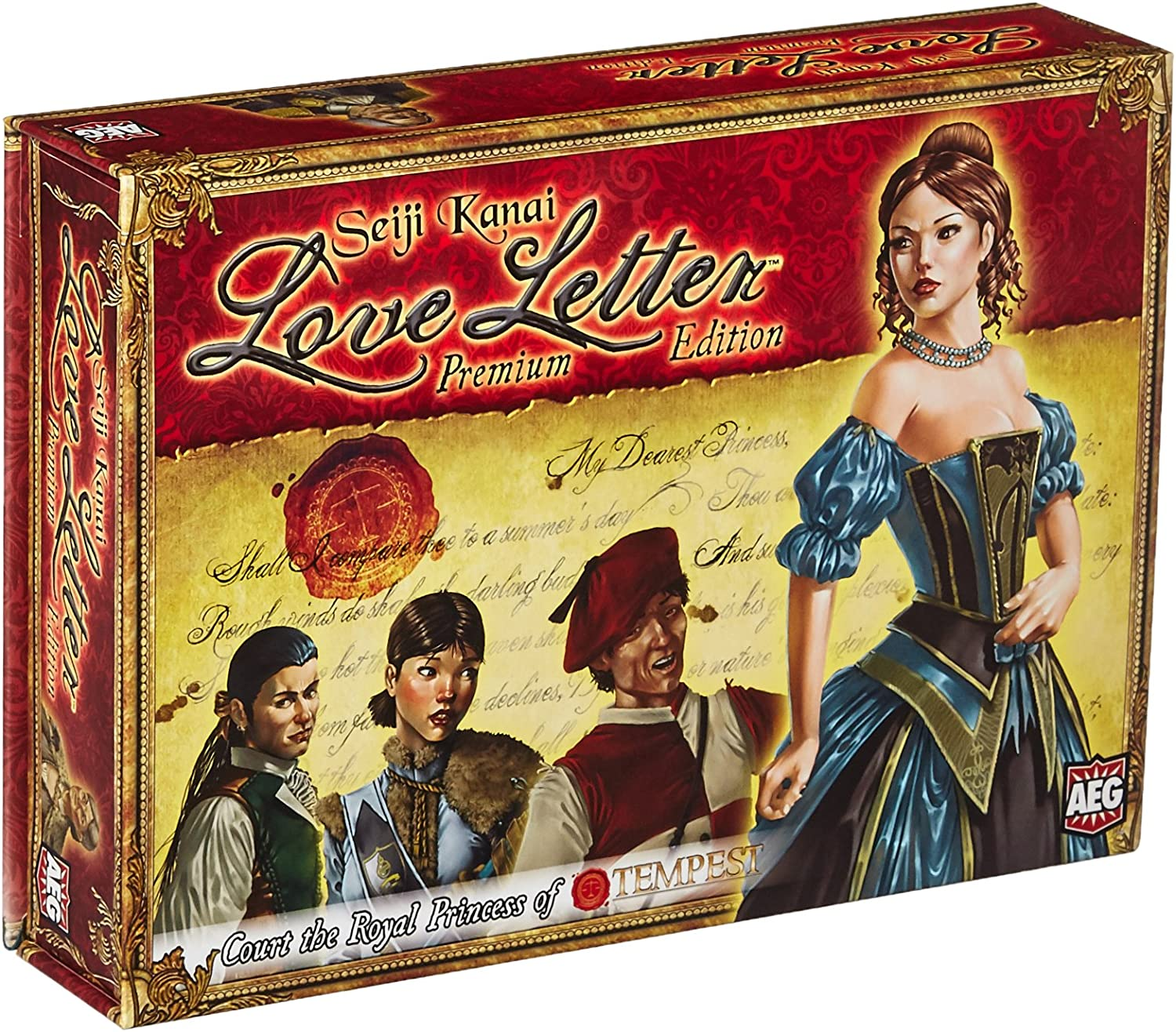 Alderac Entertainment ALD05122 Kartenspiel Love Letter Premium Edition