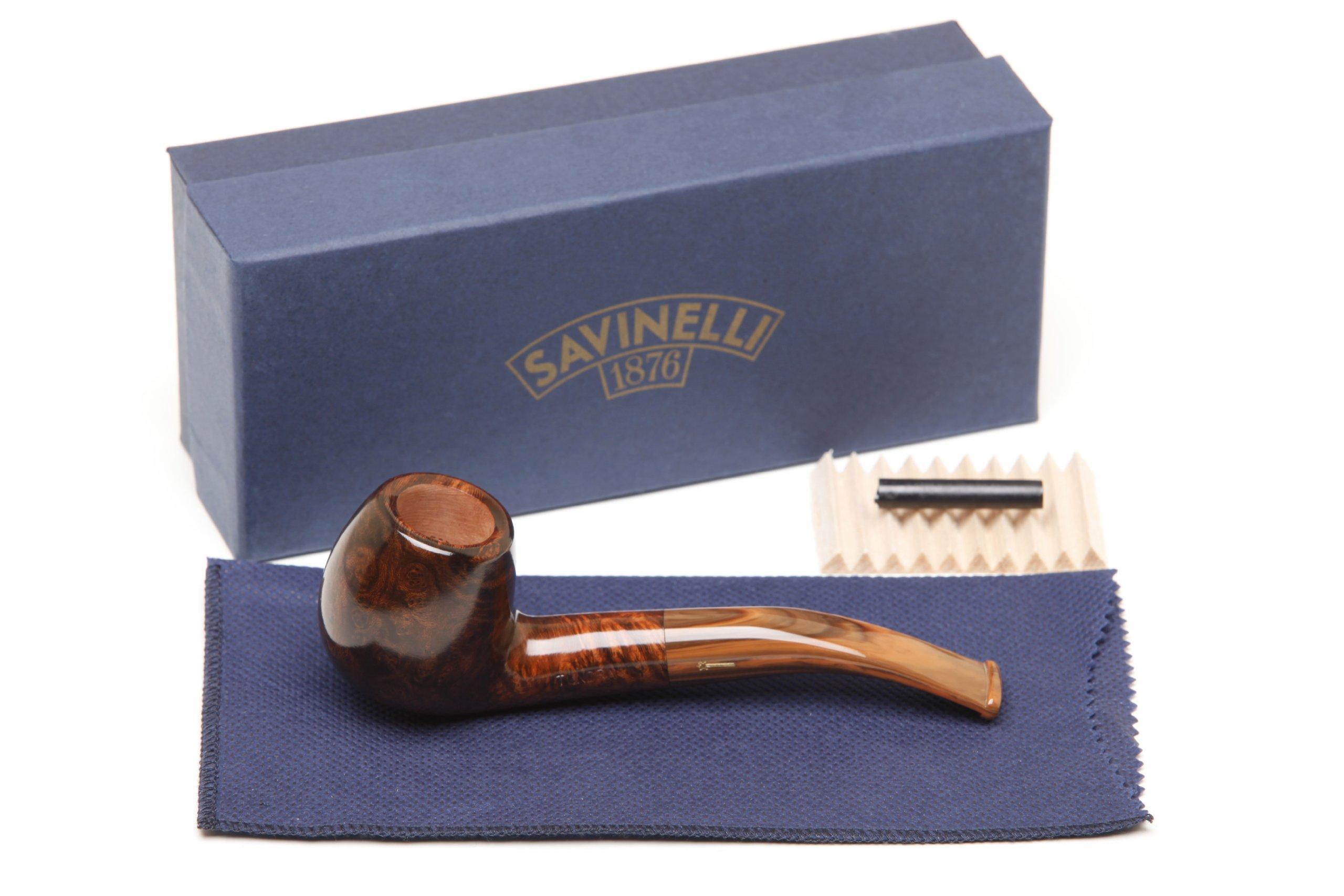 Savinelli Tundra Smooth 626 Tobacco Pipe