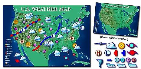 Amazon Com Carson Dellosa Mark Twain Interactive Weather Map