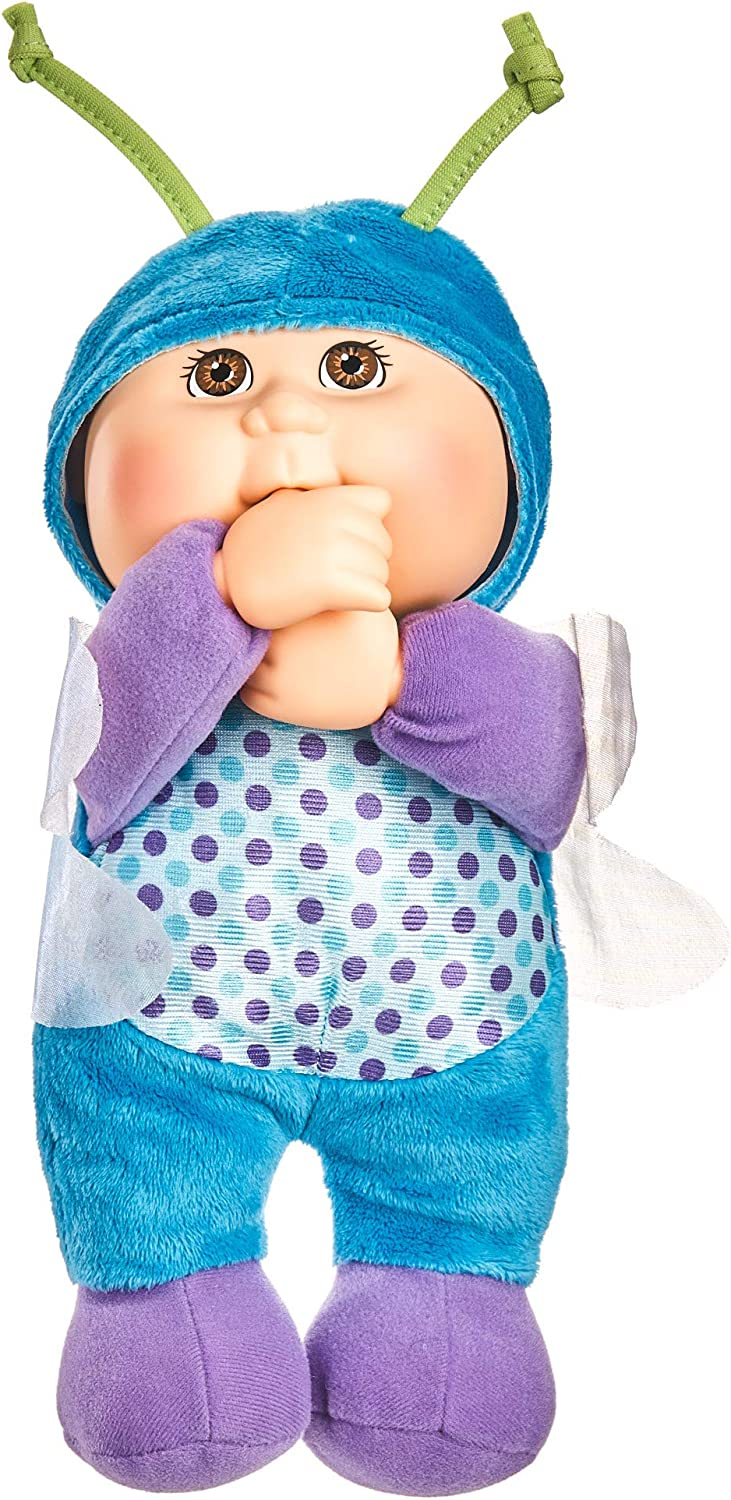 Cabbage Patch Kids Cuties Bluebell Dragonfly 9 Inch Soft Body Baby Doll - Garden Party Collection