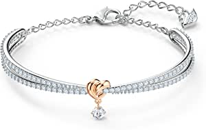 Swarovski Women's Lifelong Heart Jewelry Collection, Clear Crystals