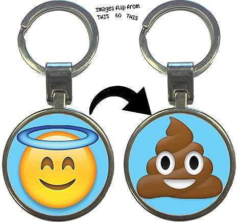 Boxer Gifts KR3003 Holy Shit Emoji - Llavero: Amazon.es ...