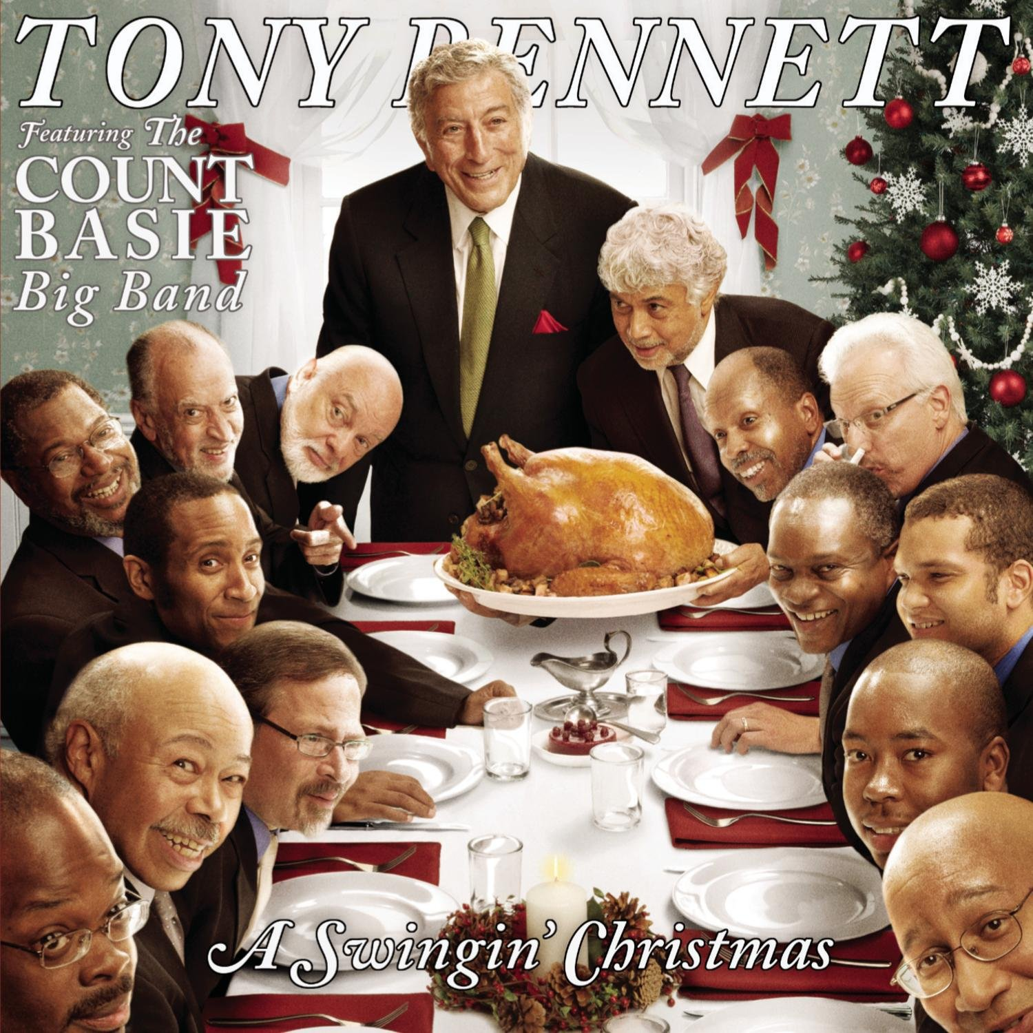 A Swingin' Christmas Featuring The Count Basie Big Band von Tony Bennett