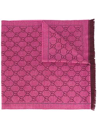 d44a14768bba3 Gucci Damen 1334833G2005573 Fuchsia Rosa Wolle Schal  Amazon.de ...