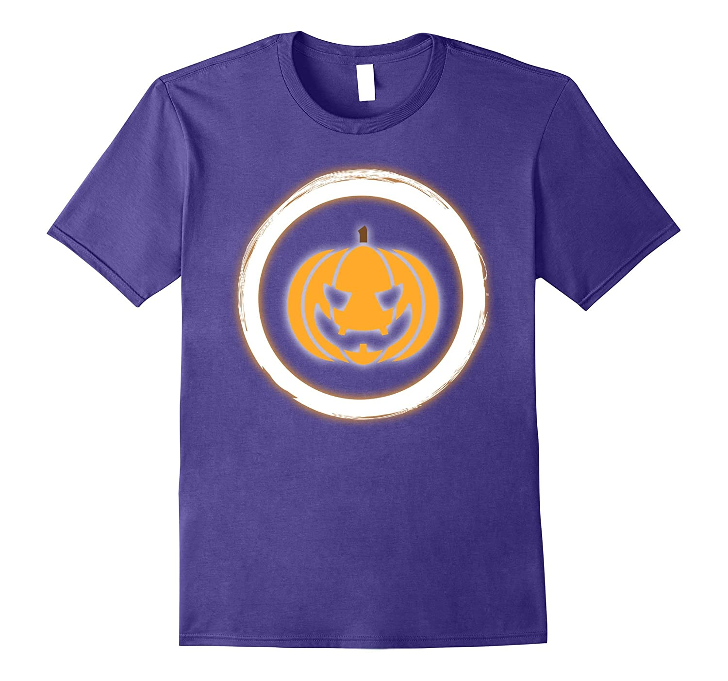 Neon Party Pumpkin Theme Party Shirt Glow in Dark T-Shirt-FL