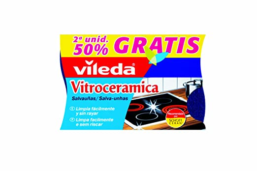 Vileda - Salvauñas Vitroceramica Duplo: Amazon.es ...