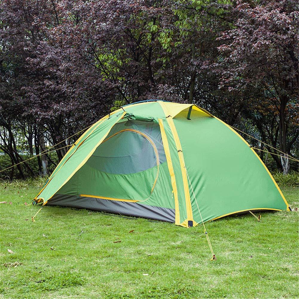 Yuhong Zelt, 2-3 Personen Campingzelte im Freien Regenschutz wasserdicht