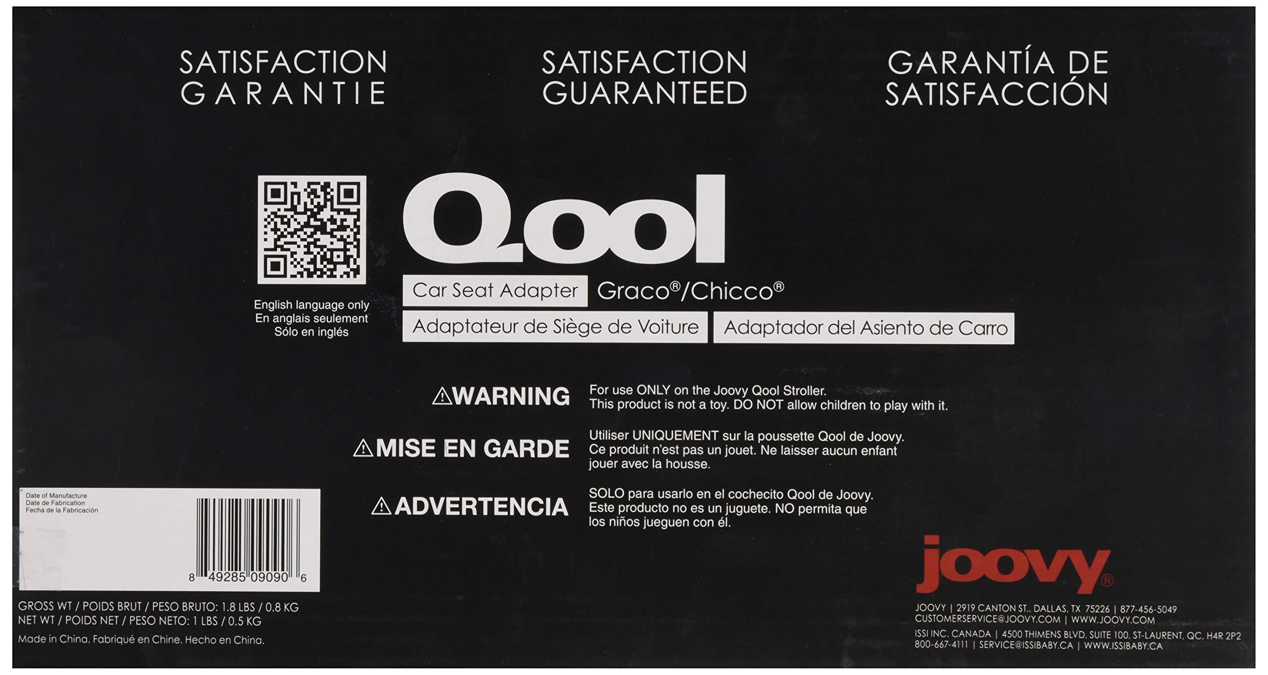 JOOVY Qool Car Seat Adapter, Graco/Chicco by Joovy (Image #3)