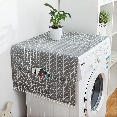 Frigorífico el polvo multiusos lavadora cubierta superior lado a ...