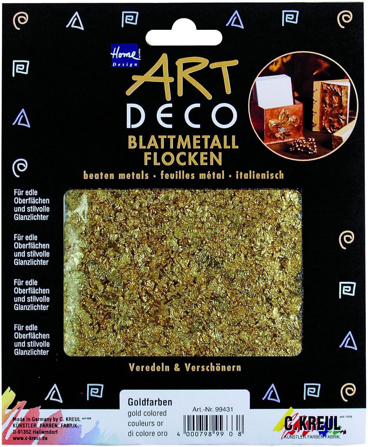 Fashion Flocken 3 g Schlagmetall Schlagaluminium Kupfer zum vergolden