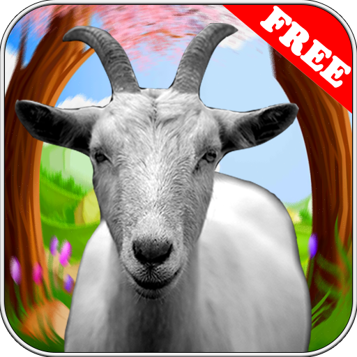 97% Crazy Goat Simulator 2018 3d Space Voyage Jigsaw