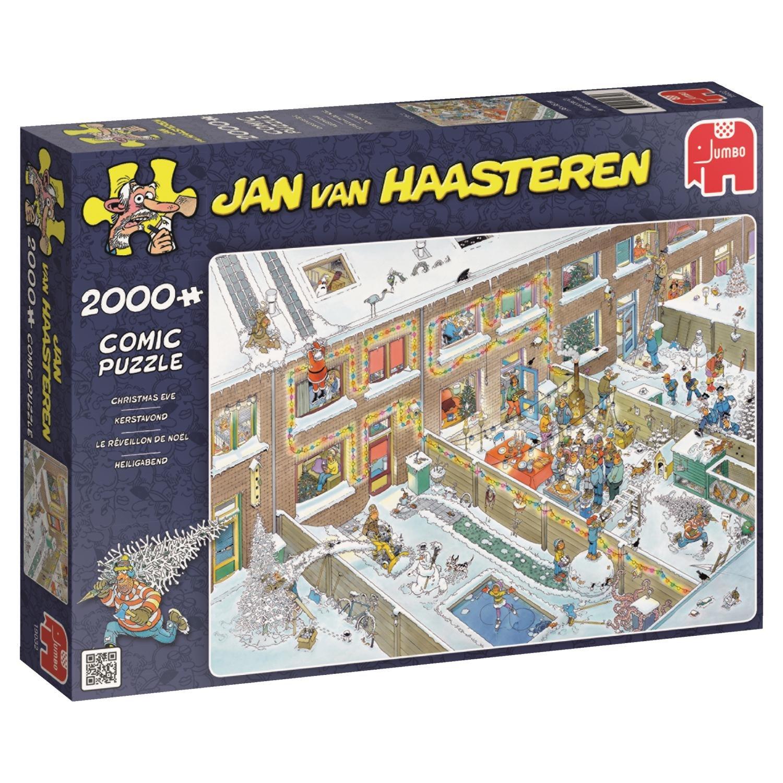 Jumbo Jan Van Haasteren Christmas Eve Jigsaw Puzzle (2000 Piece)