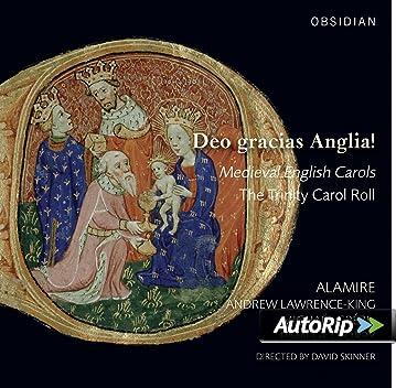 Englische Weihnachtslieder.Deo Gracias Anglia Englische Weihnachtslieder Des Mittelalters