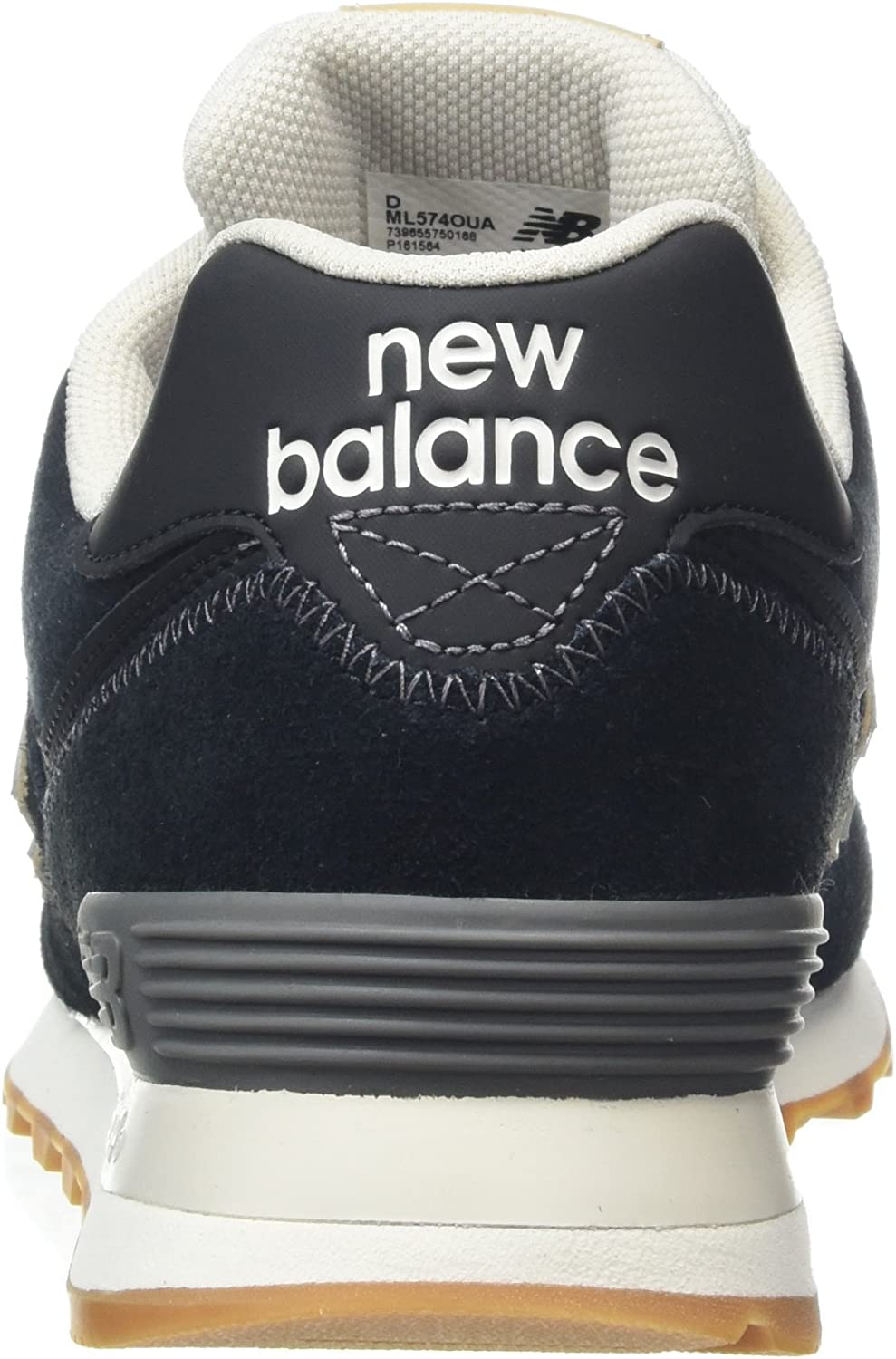 New Balance Herren ML574O, Sneaker, Schwarz (Black/Ml574oua)