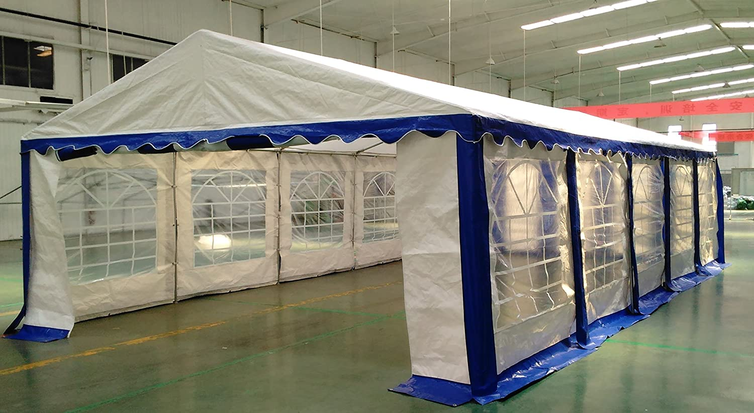 Amazon.com American Phoenix Canopy Tent 15x30 foot Large White Party Tent Gazebo Canopy Commercial Fair Shelter Car Shelter Wedding Events Party Heavy Duty ... & Amazon.com: American Phoenix Canopy Tent 15x30 foot Large White ...