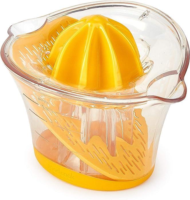 Good Cook 20518 1.5-Cup Manual Citrus Juicer System