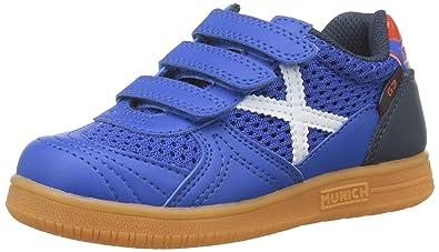 24210b2f939e4 Munich G-3 Kid VCO Indoor 945 Chaussures de Fitness Mixte Enfant ...