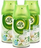 3x Airwick Freshmatic Max Automatic Spray Refills White Flowers 250ml