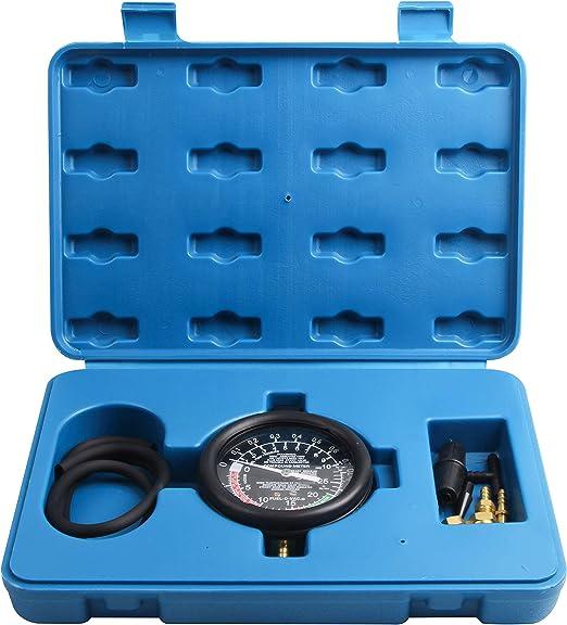 Llctools Vakuumtester Unterdruck Tester Set Vakuum Messen Benzinpumpe Drucktester Vakuum Tester Auto