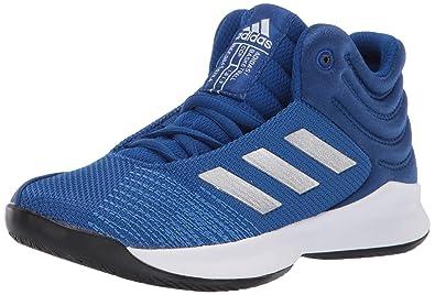 Black Adidas Pro Spark basketball shoes
