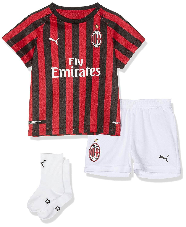 Puma AC Milan Home Replica Stagione 2019//20 Maglia Calcio Unisex Bambini