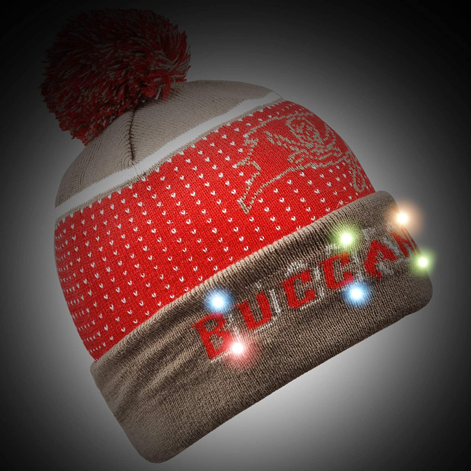 FOCO NFL Knit Light Up Beanie Hat