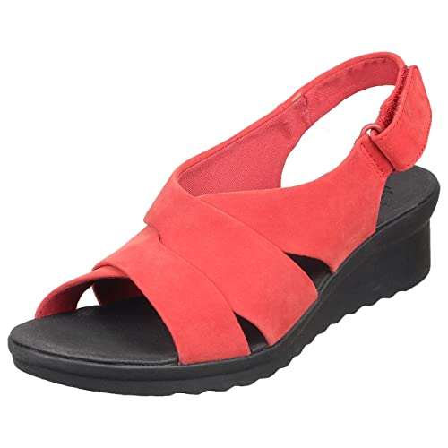 2aeab0c93e2 Clarks Caddell Petal Red  Buy Online at Low Prices in India - Amazon.in