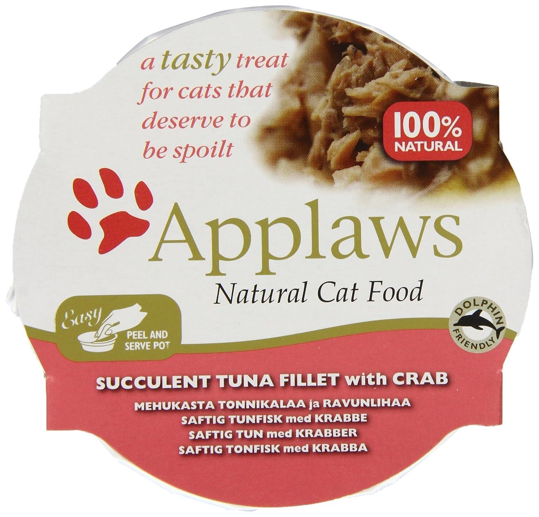 Applaws Cat Food Pot 60g Multipack Fish Selection MPMA4 7008NE-AC