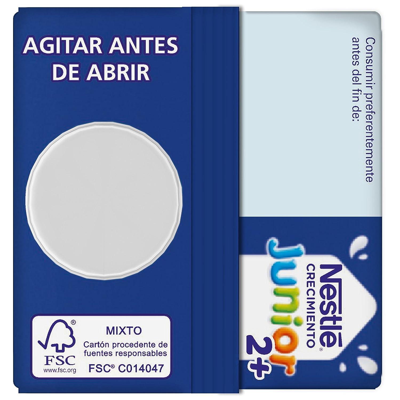 Nestlé Junior Crecimiento 2+galleta María - Leche para niños a partir de 2 años - 6x1L: Amazon.es: Alimentación y bebidas