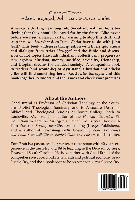 Clash of Titans: Atlas Shrugged, John Galt & Jesus Christ