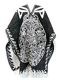 Del Mex Authentic Mexican Poncho Cobija Gaban