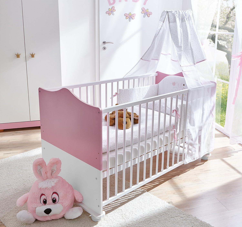 TICAA BabyzimmerPrinzessin 5-teilig Rosa