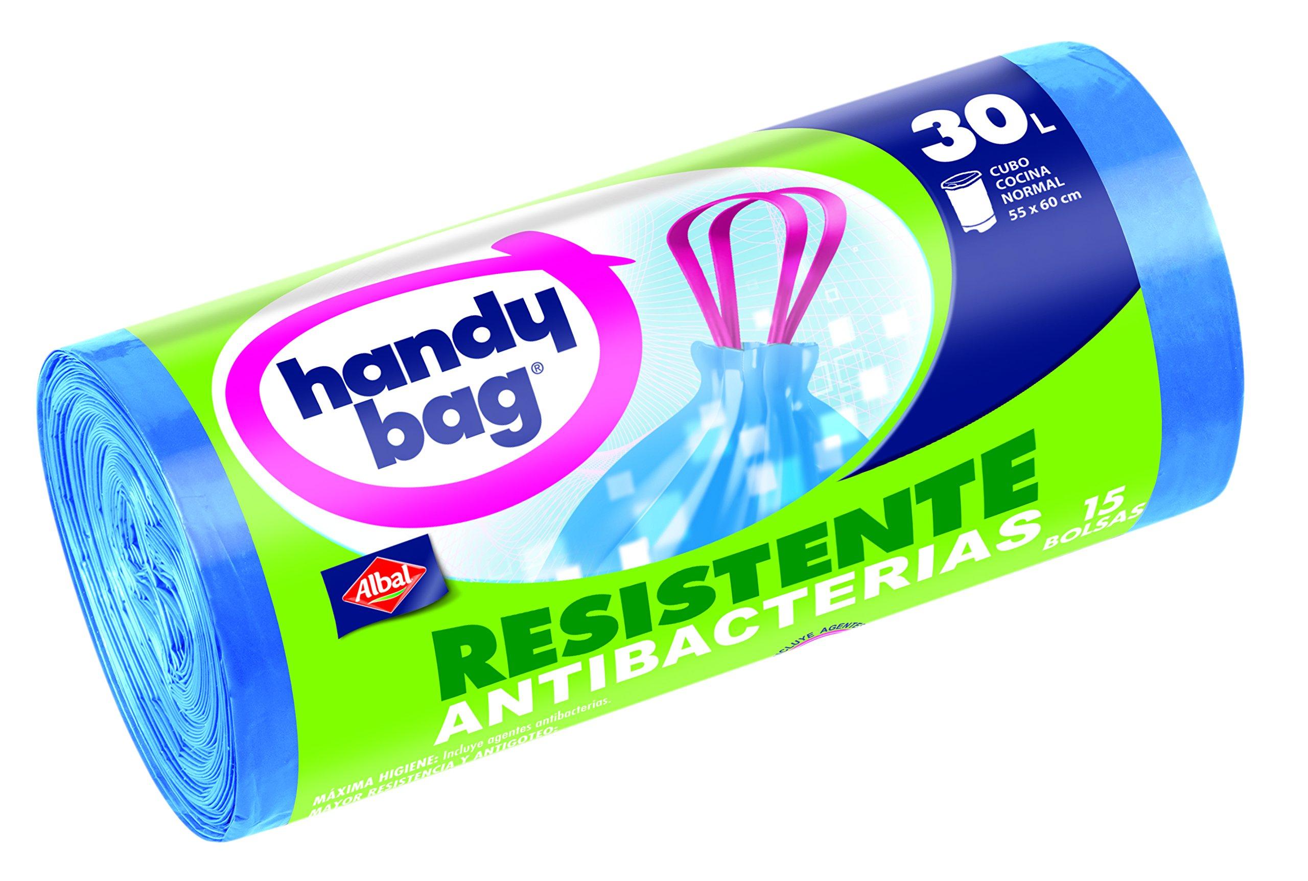 Handy Bag Bolsas de Basura, 30 l, con Autocierre - 15 Unidades product image