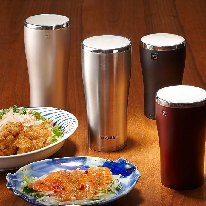 Zojirushi 象印 SX-DA60 不锈钢随行杯 真空保温杯 600ml 6.3折$21.92 海淘转运到手约¥176