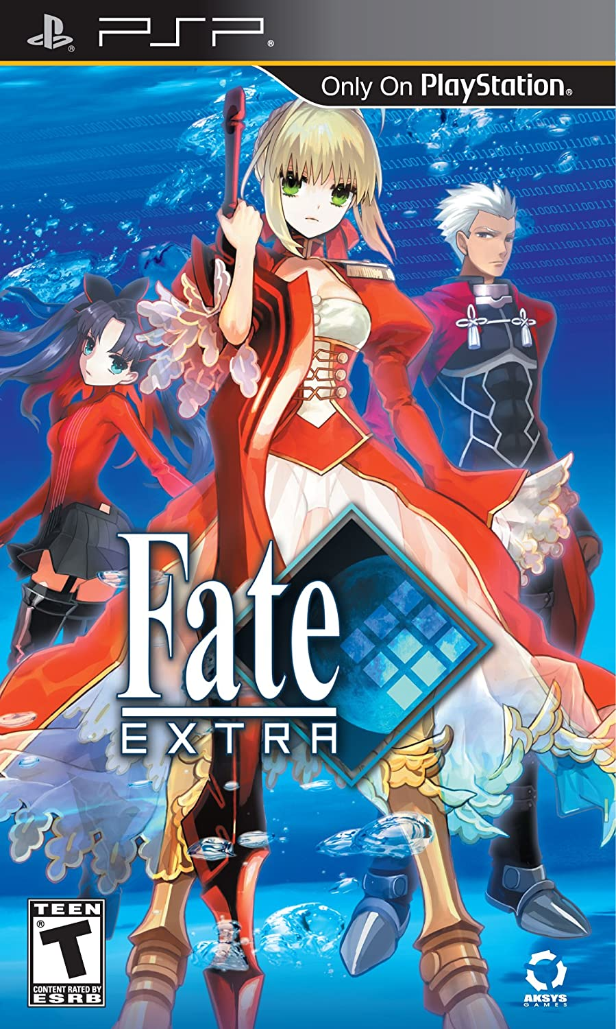 Amazon com: Fate/Extra - Sony PSP: Aksys Games: Video Games