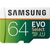 Samsung EVO Select 64GB microSDXC UHS-I U1 100MB/s Full HD minneskort inkl. SD-adapter (MB-ME64HA/EU)