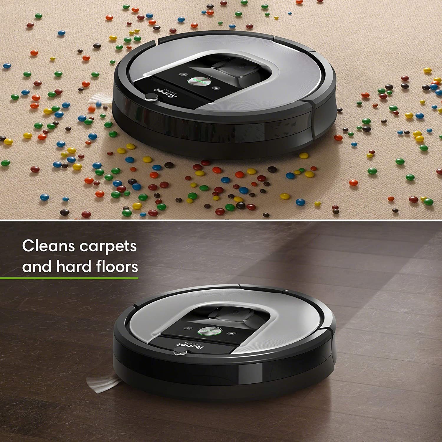 Go for the iRobot Roomba 960 if you prefer the upgraded features