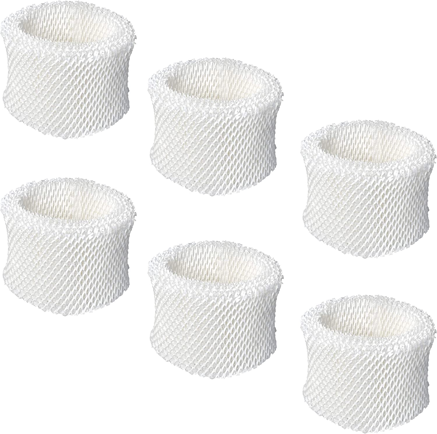 Replacement Humidifier Wicking Filter Compatible with Honeywell HC-888, HC-888N, Filter C - Fits for Honeywell HCM-890 HCM-890B HEV-320 Duracraft DCM-200 DH-890 - Pack of 6